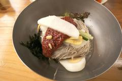 Korean Food Noodle Makguksu