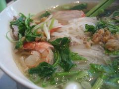 rice noodles with pork broth