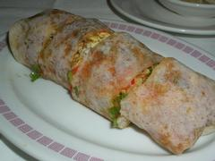 Popiah Spring roll wrapped