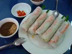 Soft vermicelli summer roll