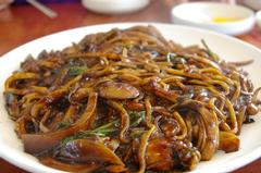 Jajangmyeon -  Noodles with blackbean sauce