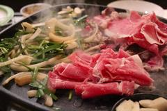 bulgogi, Korean sliced barbecue