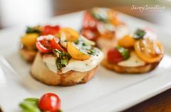 Bruschetta with Cheese