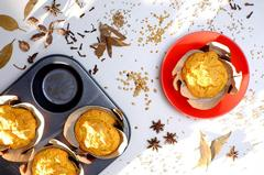 Curry-Spiced Carrot and Date Muffins