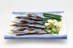Gwamegi - half-dried Pacific herring