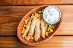 Mexican Beef Taquitos with Cilantro
