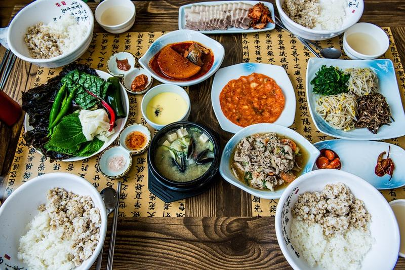Korean table d'hote