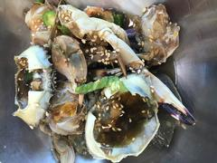Raw crab marinated in soy sauce-Ganjang-gejang